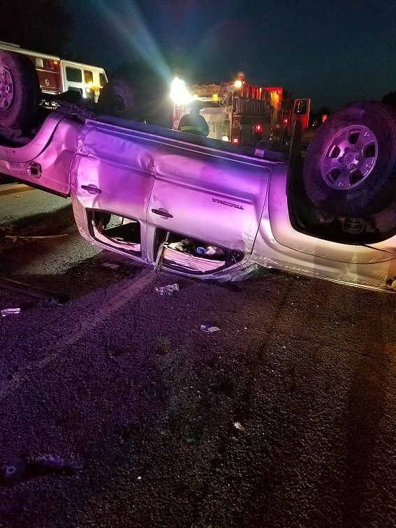 Rollover crash on US 41 sends four to hospital | News
