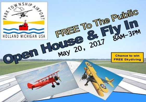 Open House and Fly In at Park Township Airport | News | 1450