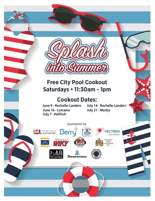 "Splash into Summer"" donation drive 