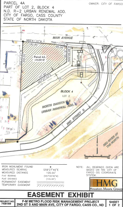 Fargo planning to sell prime city-owned property for ... on west fargo city limits map, fargo nd map, fargo minnesota map, fargo flood zone map, fargo interactive flood map, city street map bismarck nd, fargo north dakota street map, fargo north dakota weather map, south fargo map,