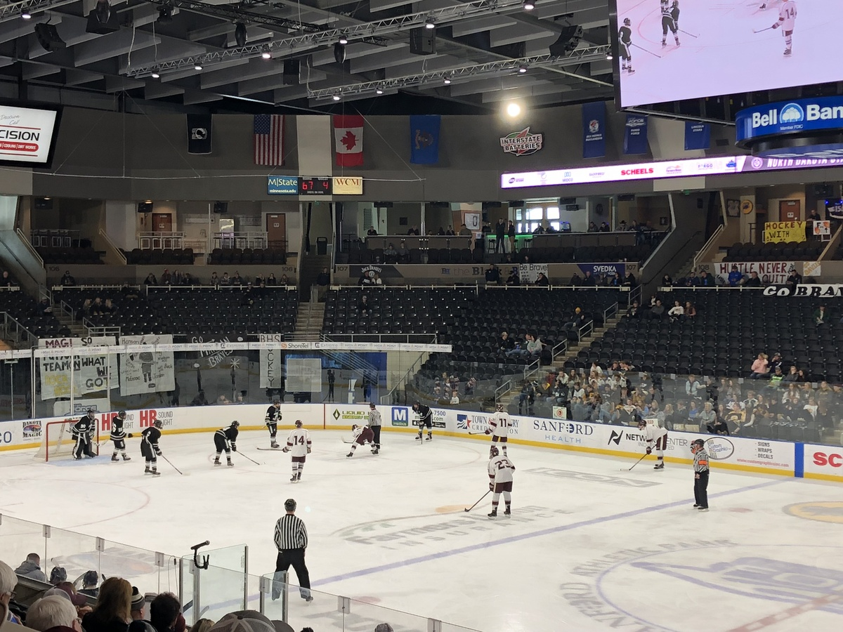 2019 North Dakota Boys State Hockey Quarterfinals Results News