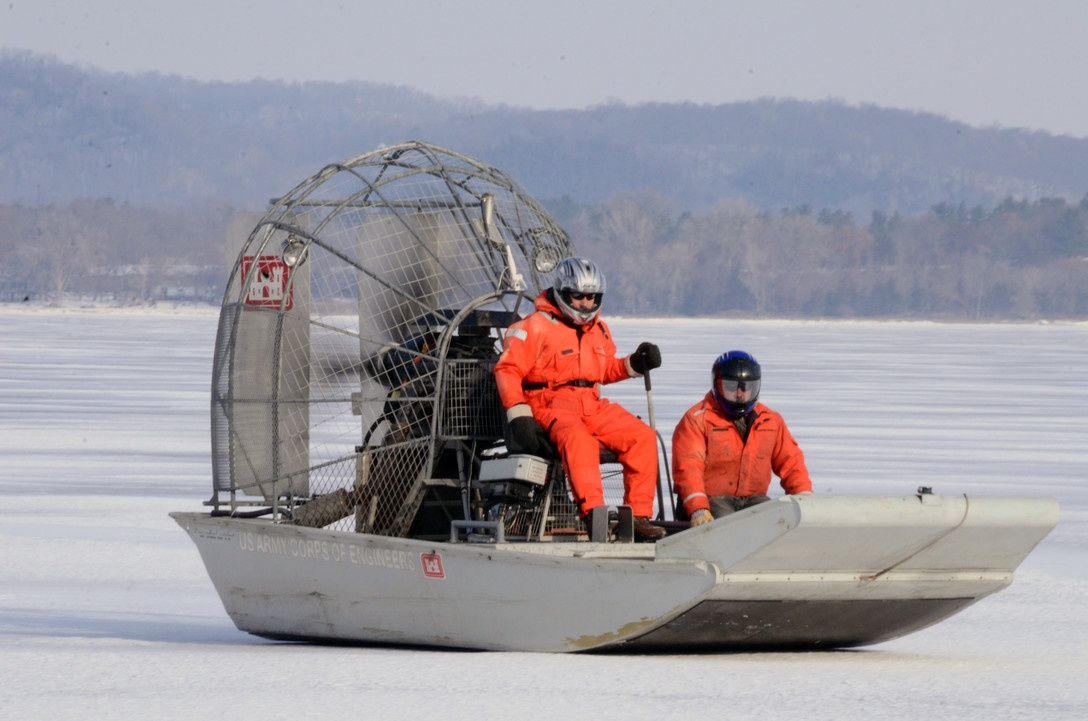 Airboat used to rescue crash victim on frozen lake | News