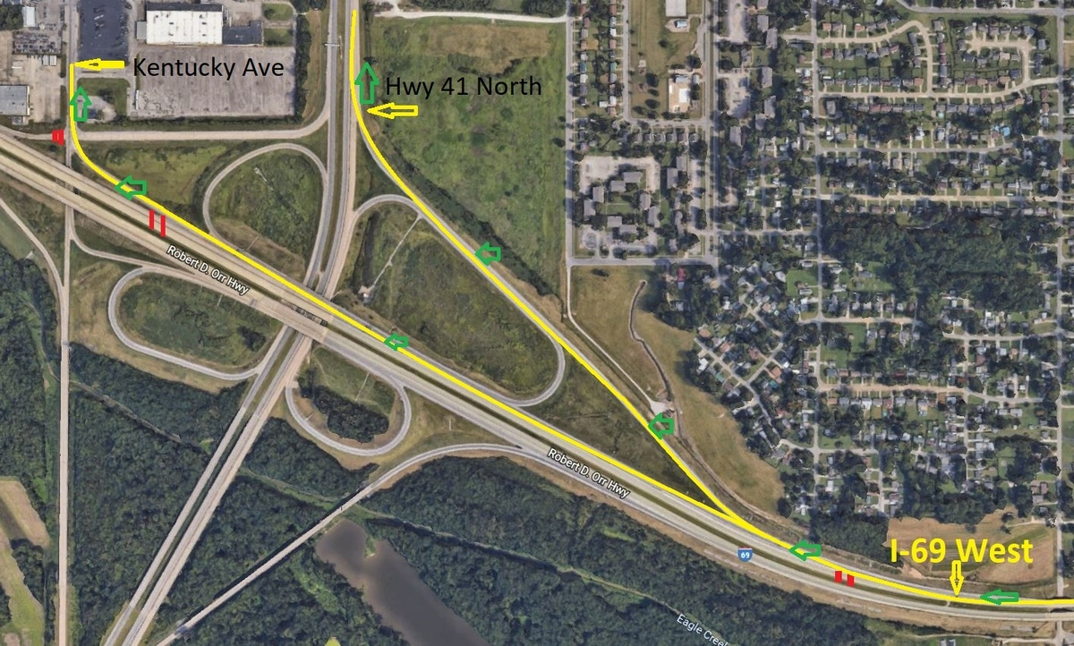 Westbound traffic diverted for Riverside Drive work | News