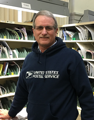 sports shoes b4b2c 9bcba Letter carrier honored in Princeton | News | 104.1 WIKY
