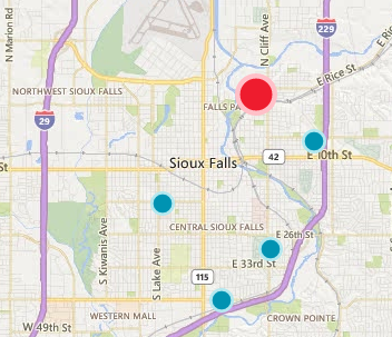 UPDATE: Sporadic power outages in Sioux Falls, area | News | KELO ...