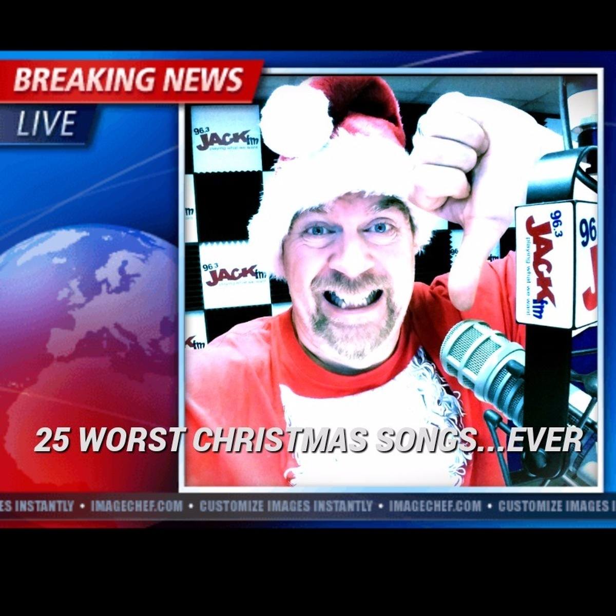 25 worst christmas songsever 963 jack fm - Dominick The Donkey Christmas Song