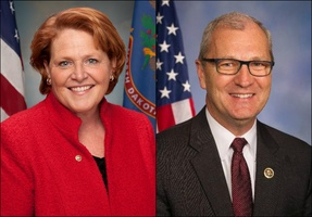 Family separation issue tests Heitkamp, Cramer | KFGO