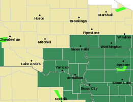 ATTENTION: Wet, possibly wild around SIOUX EMPIRE | KELO
