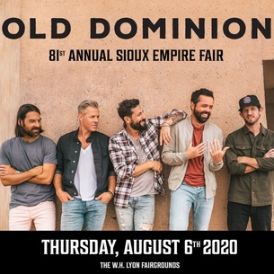 Best Country Albums 2020 Old Dominion Thursday August 6th, 2020 | Big Country 92.5