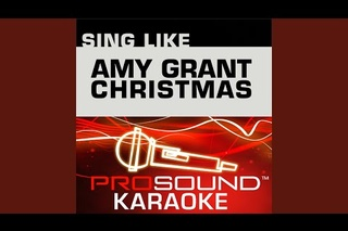 grown up christmas list karaoke instrumental track in the style of amy grant - Amy Grant Grown Up Christmas List
