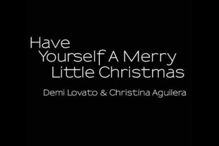 have yourself a merry little christmas demi lovato christina aguilera - Christina Aguilera Have Yourself A Merry Little Christmas