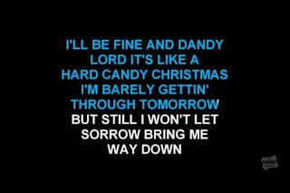 hard candy christmas in the style of dolly parton karaoke video with lyrics - Hard Candy Christmas