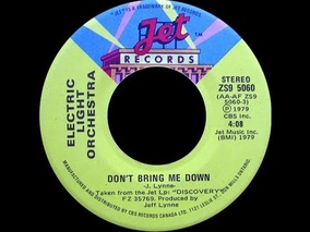 Attractive Electric Light Orchestra ~ Donu0027t Bring Me Down 1979 Disco Purrfection Edit