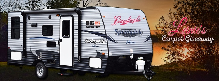 Leinie's Camper Giveaway | Big Country 92 5 KTWB | Sioux