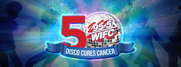 Disco Cures Cancer Returns!   95 5 FM WIFC   All The Hits