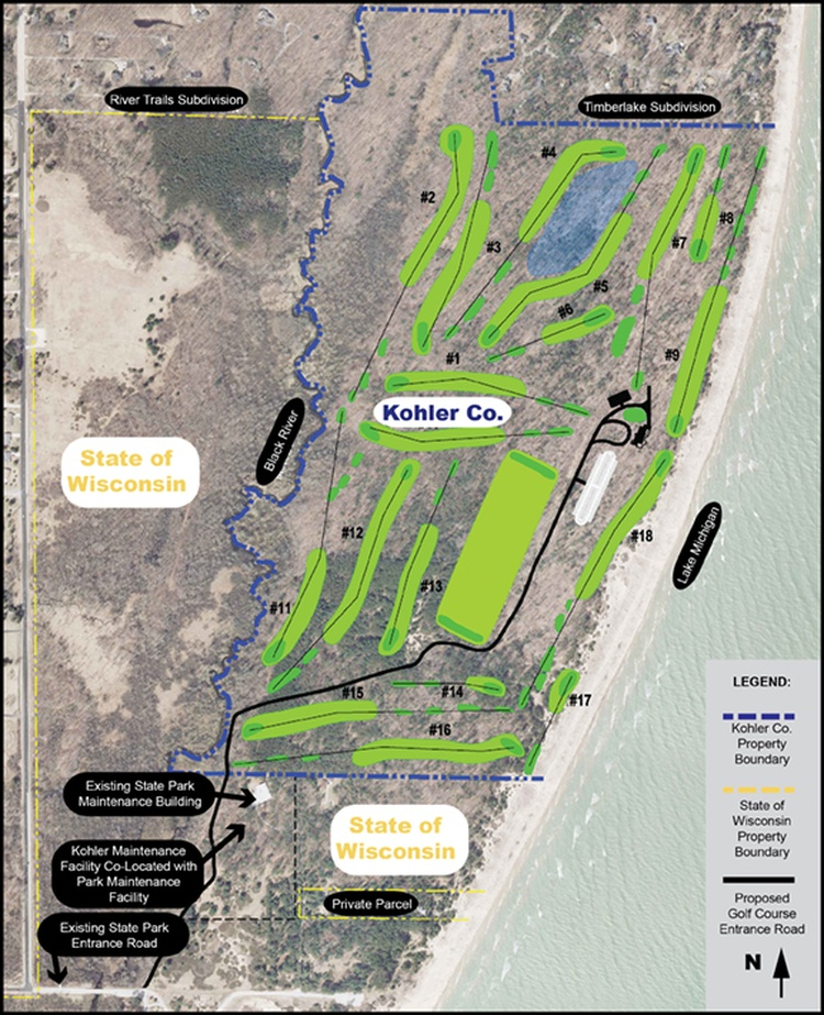 DNR Holds Open House For Kohler Golf Course Request | News | 1330 ...