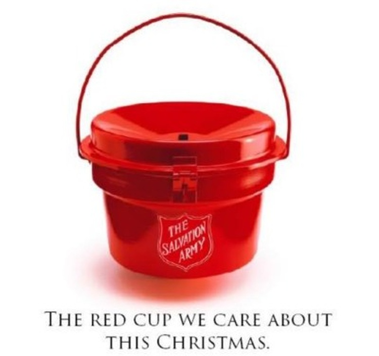 Salvation Army Receives Gold Coin In A Kettle