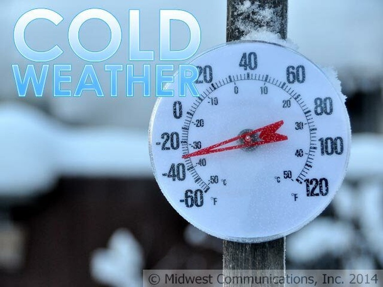 Dangerously cold temperatures return this weekend