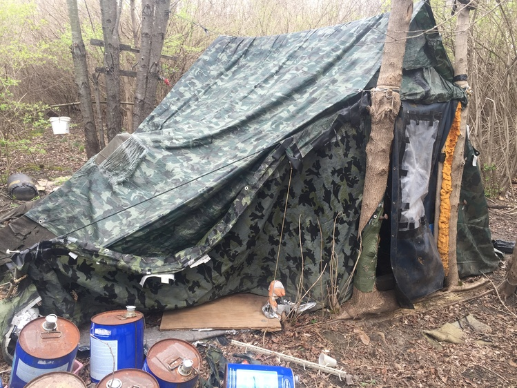 meth lab and material found photo by ISP & Meth Lab Found Along Heritage Trail | News | WIBQ