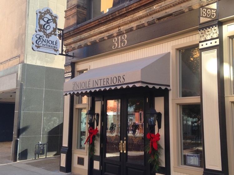Enjole Interiors Is Located At 313 Main Street In Downtown Evansville Source WIKY