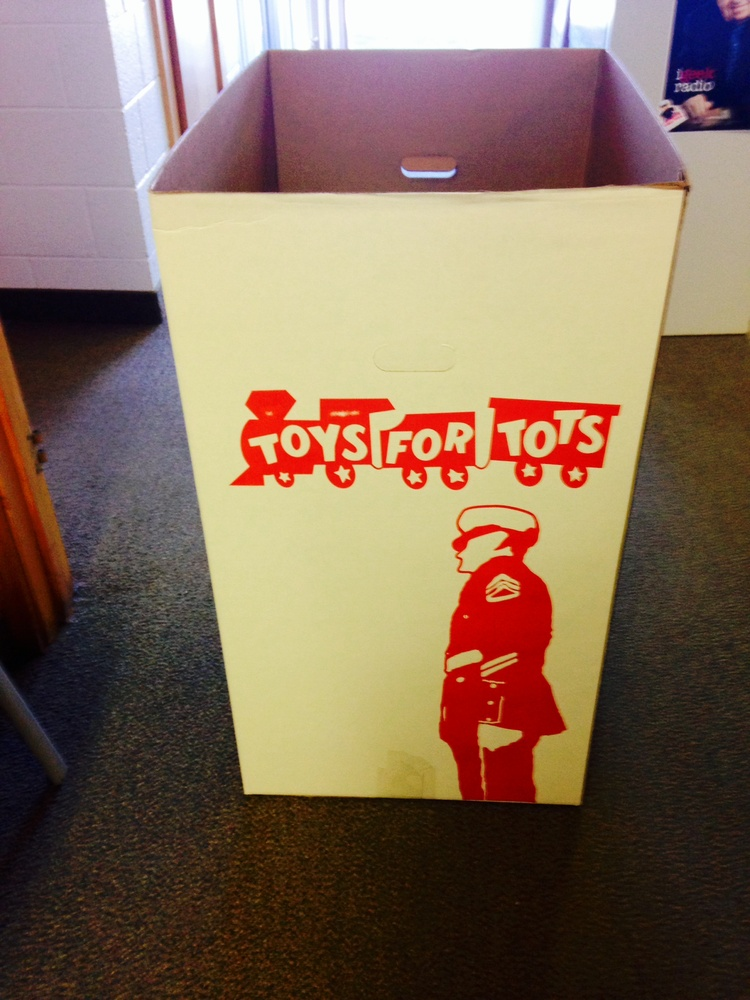 Toys For Tots Box Photo Courtesy Of Whtc