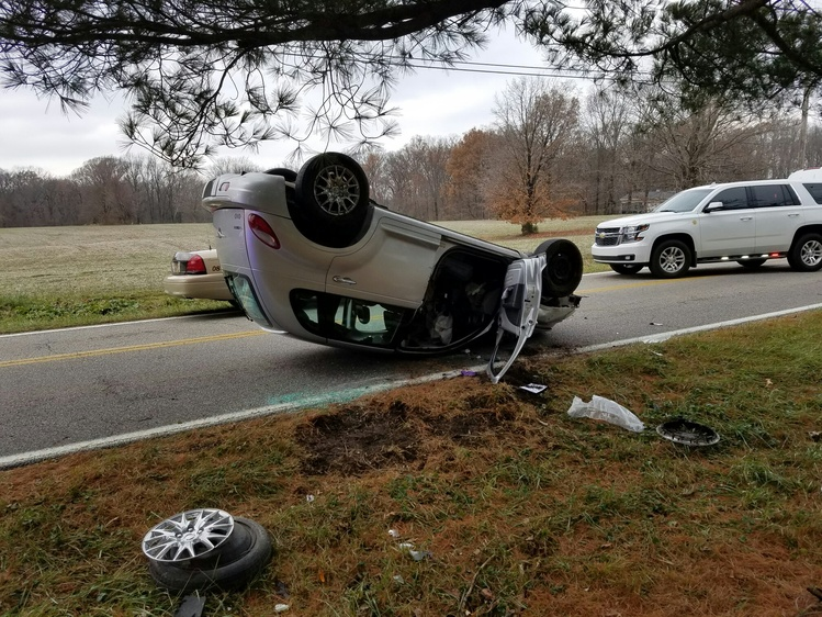 Darmstadt Road Crash Sends Two to the Hospital | News | 104.1 WIKY