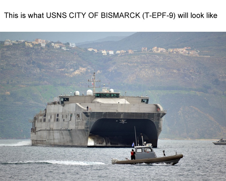 christening ceremony set for usns city of bismarck news