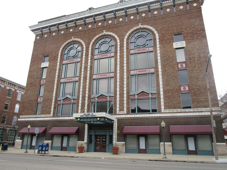 The Old Masonic Temple Which Is Now Called Rose St Market Proposed