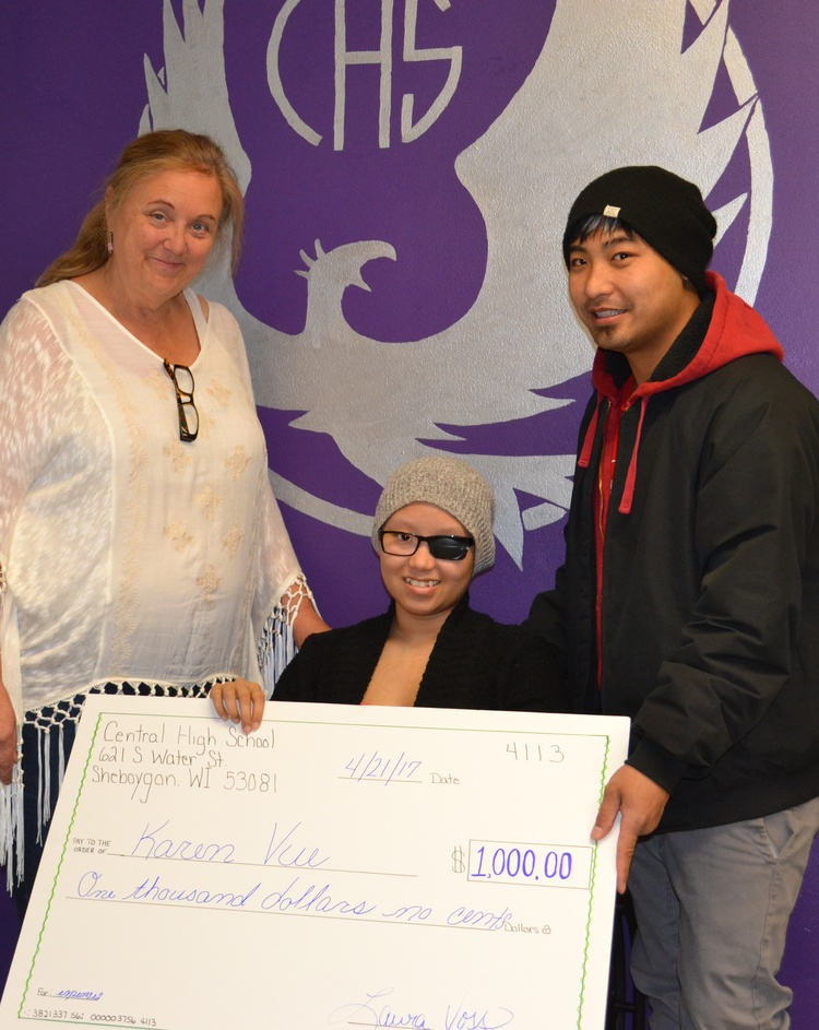 central high school students raise $1,000 for classmate with, Powerpoint templates