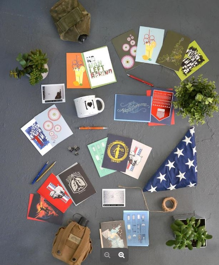 Greeting cards support military at spartannash stores news 1450 has heart military greeting cards at spartannash stores photo courtesy of spartannash m4hsunfo