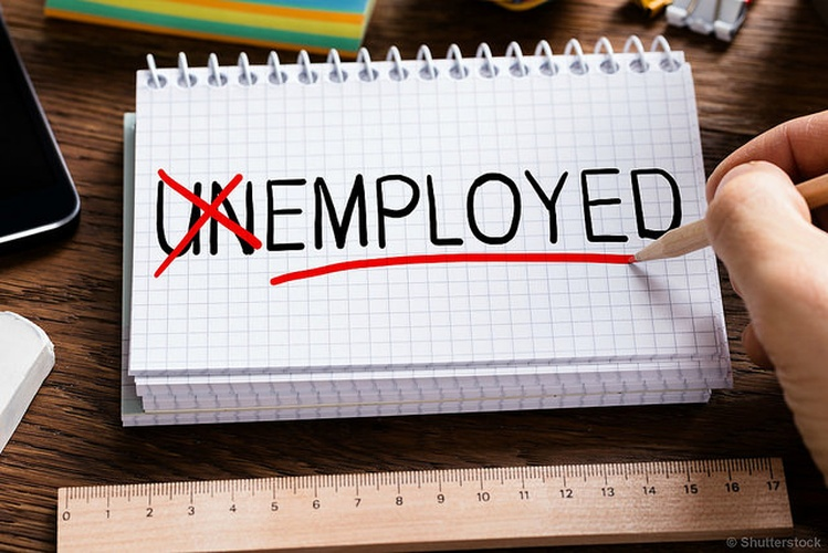OH  unemployment rates drops in February