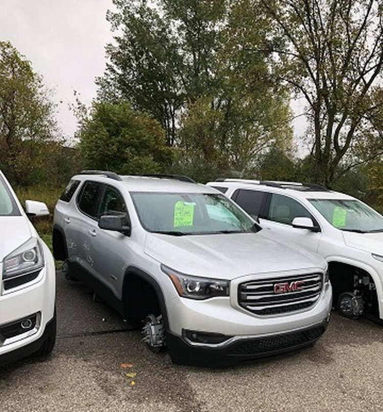 Buick Tires Coldwater >> Local Auto Dealership Gets Hit By Thefts News Wtvb
