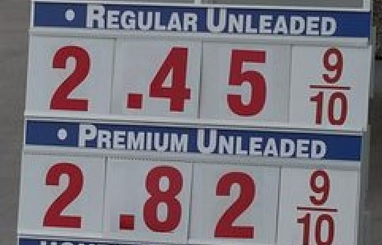 WNIJ's Gas Price Monday
