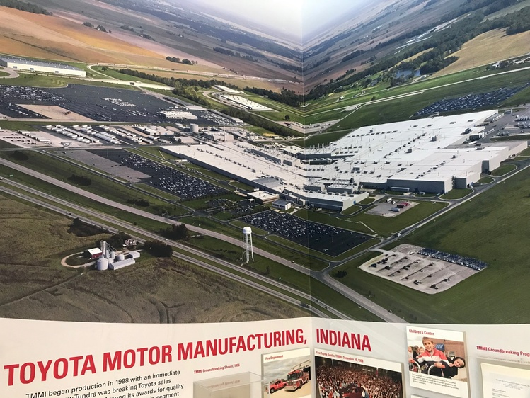 An Aerial View Of The Toyota Plant In Gibson County (Source: WIKY)