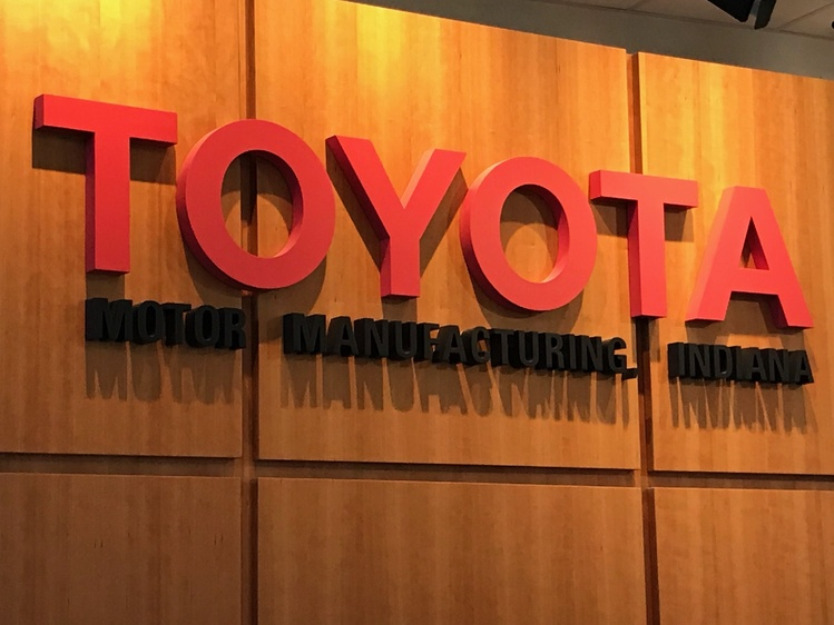Toyota Motor Manufacturing, Indiana (Source: WIKY)
