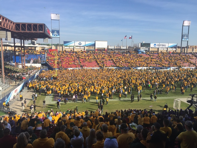 Stick, Bison win 6th title