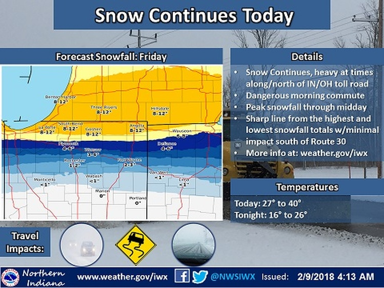Winter Storm Watch issued for Southeast Michigan, heavy snow expected
