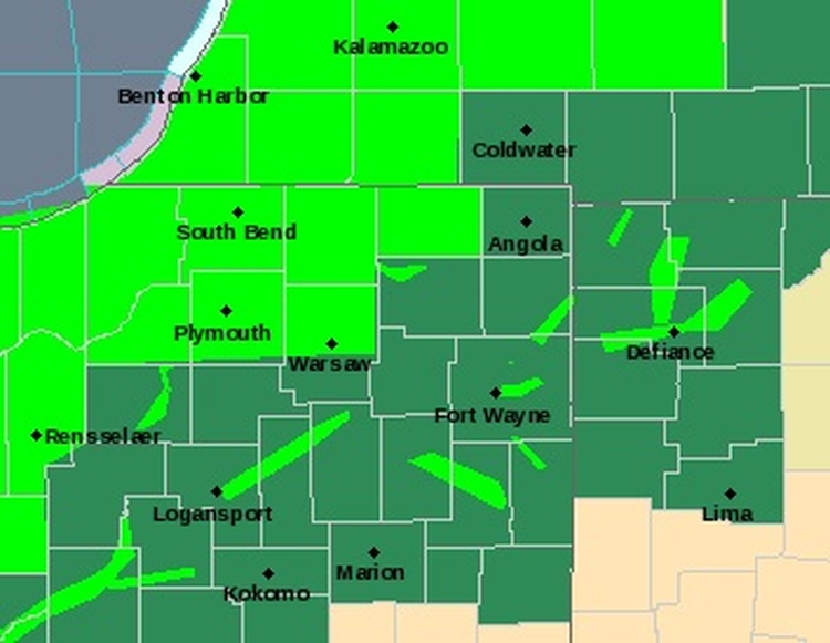 Flooding possible as heavy rain moves through Chicago