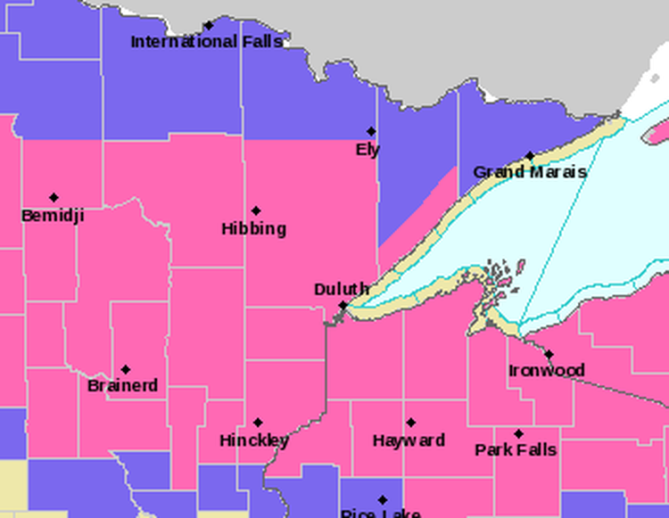 Winter Storm Alerts Updated