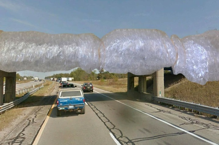 troubled kent county overpass remains unprotected news the touch