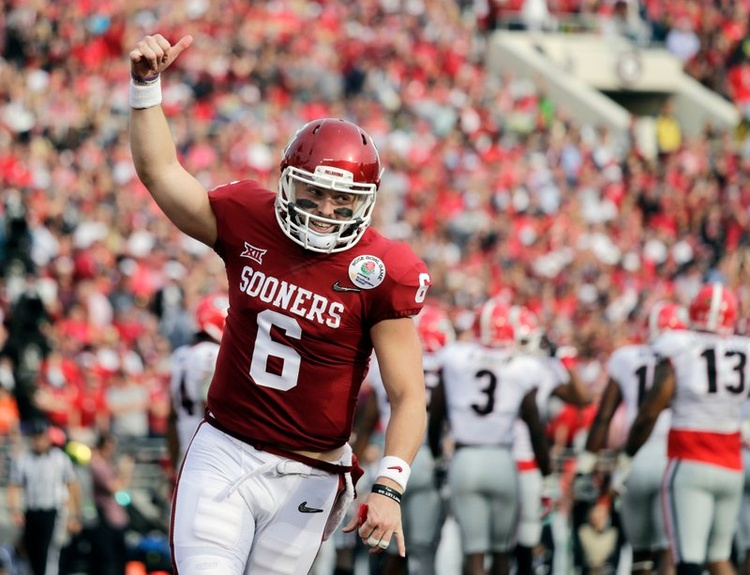3bccd063b Top gun  Browns select QB Baker Mayfield No. 1 in NFL draft