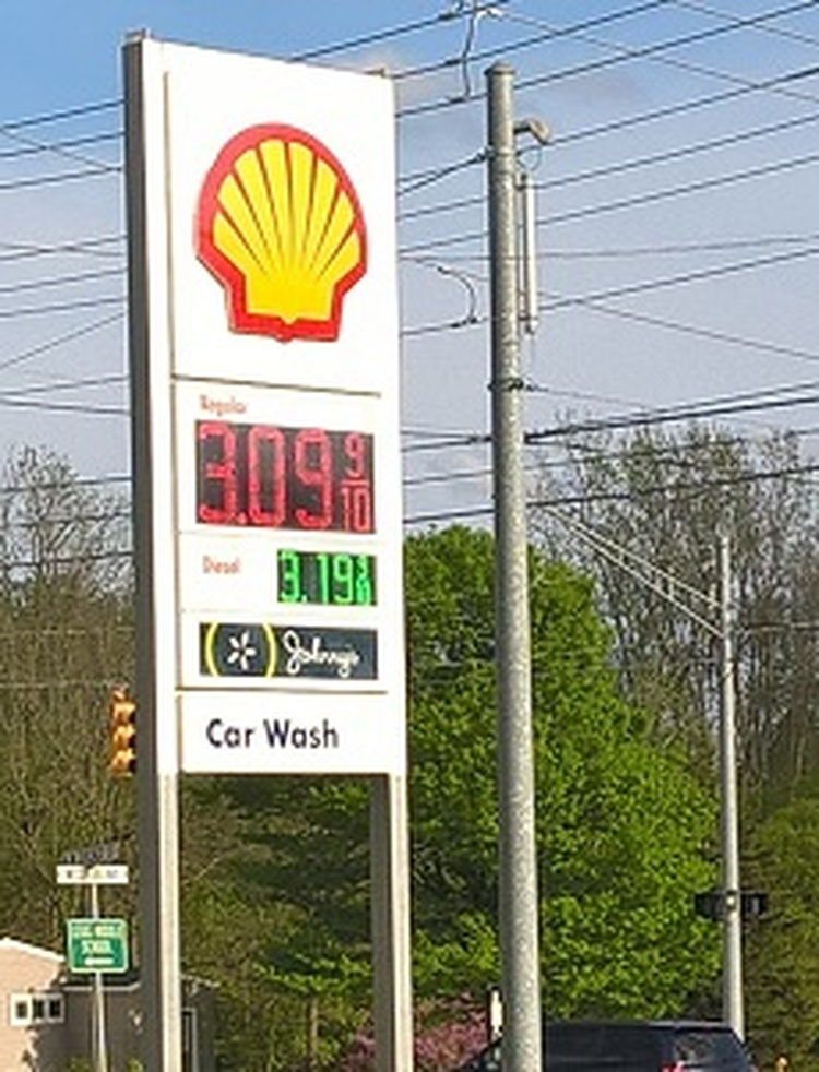 Gas prices are rising