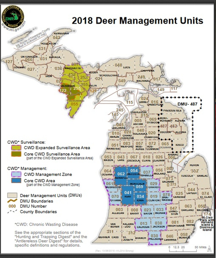 Deer Hunters Urged To Have Deer Checked By Dnr News Wkzo
