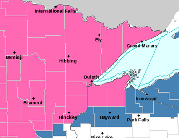 Lincoln Included in Winter Weather Advisory Until Friday Morning