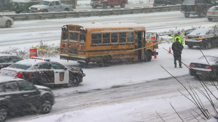 Minnesota School Bus Driver Shot In The Head During Snow Storm Traffic