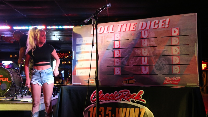 Photos: Whole Lotta Harley Giveaway at the Cotton Eyed Joe
